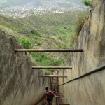 Last stretch on Diamond Head hike photo by Scott Holleran