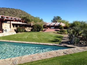 exterior at Taliesin West photo by Scott Holleran