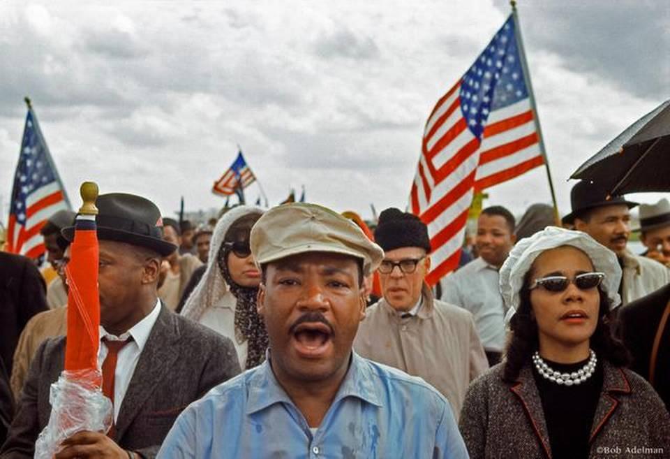 King at Selma, courtesy of Bob Adelson